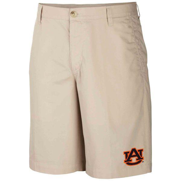 Auburn Tigers Columbia Collegiate Bonehead Short – Khaki - $37.99