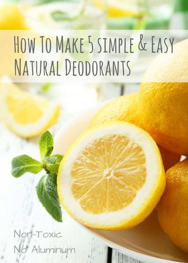 How To Make 5 Simple & Easy Natural Deodorants | Blue Yonder Urban Farms | Karen Coghlan | #deodorant #simple #easy | http://blueyonderurbanfarms.com/15548/deodorant/