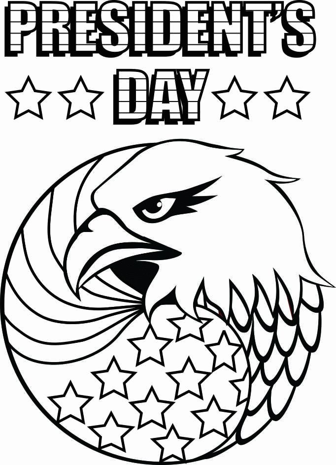 Happy President's Day Coloring Pages. #Presidents #day #