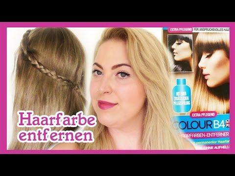 Haare blondieren oder farben