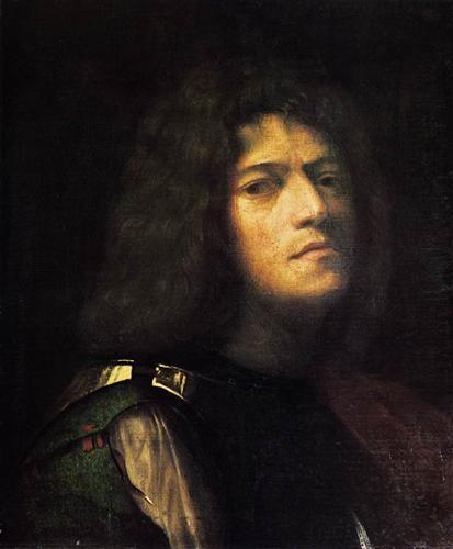 Self-Portrait as David. Giorgione. 1510. Oil on canvas. 52 x 43 cm. Herzog Anton Ulrich-Museum. Braunschweig.