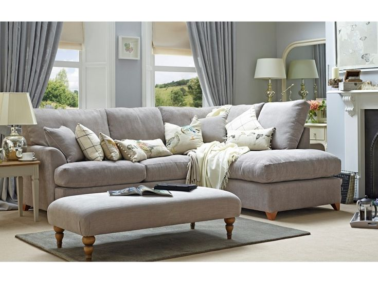 The Alderton Right Corner Sofa | Willow & Hall