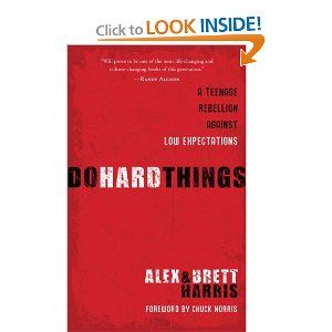 Do Hard Things. About rising above society's low expectations of teenagers.