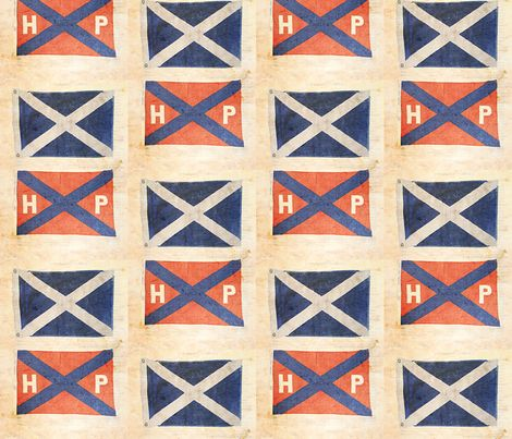 Sailing Flags fabric by finandivy on Spoonflower - custom fabric