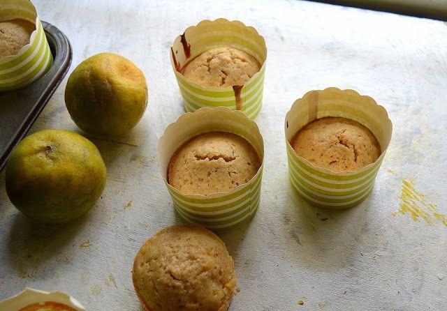 Babi 's Recipes: Orange Flavored Muffins   Oats- Orange Muffins   Healthy Muffins