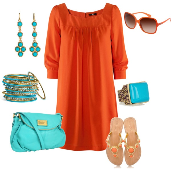 Love these colors together!: Favorit Color, Summer Dresses, Color Combos, Color Together, Color Comin, Color Oh, Colors Oh, Cowboys Boots, Gorgeous Color