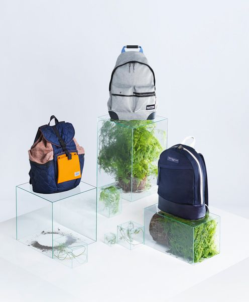 Carl Kleiner - T MAGAZINE - Backpacks and plants