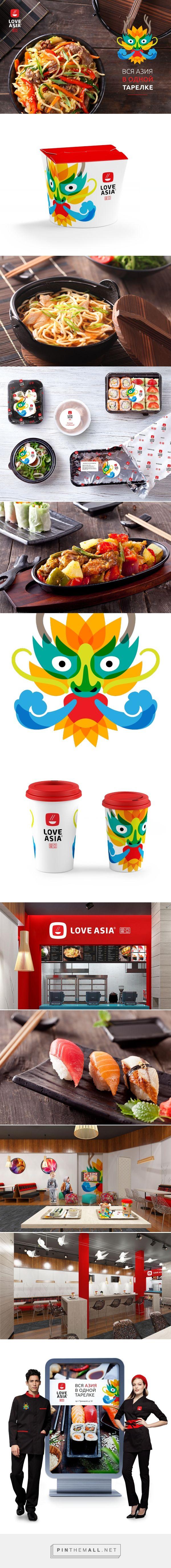 Love Asia packaging branding via BRANDEXPERT Freedom Island curated by Packaging…