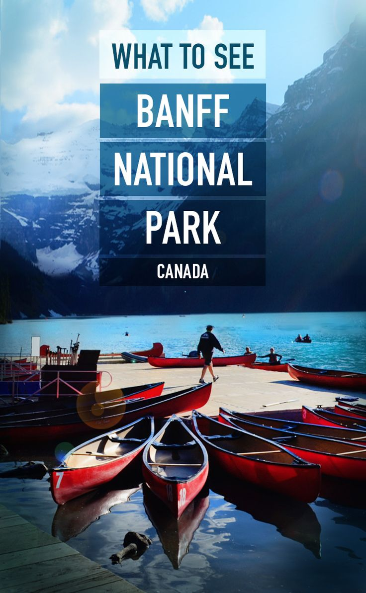 Visiting Banff National Park? Here a few must sees!