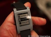 Pebble watch is the smartest timepiece ever!   I'm getting one!  I am one of the original (small) backers!  Should get it by end of Jan.