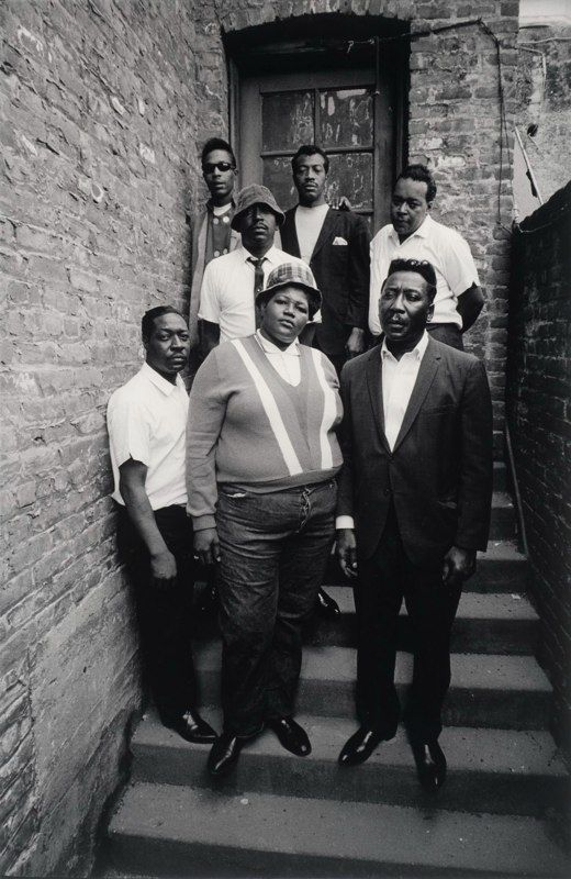 Big Mama Thornton, Muddy Waters, James Cotton, Otis Span and others (1965) by Jim Marshall