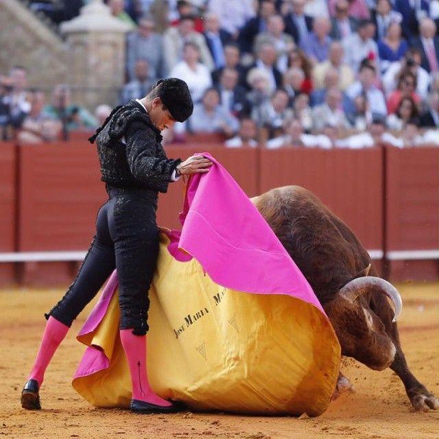 Jose María Manzanares hoy en Sevilla. Foto de Arjona. #Tauromaquia #Sevilla #FeriadeAbril #Maestranza #JoseMariaManzanares #SialaTauromaquia @jmmanzanares