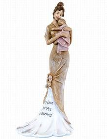 Mother and Child Grave Ornament - My Love For You Is Eternal