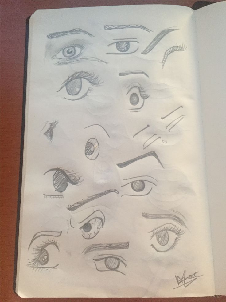 Different styles eye practice. #drawing #eye #sketch #eyepractice