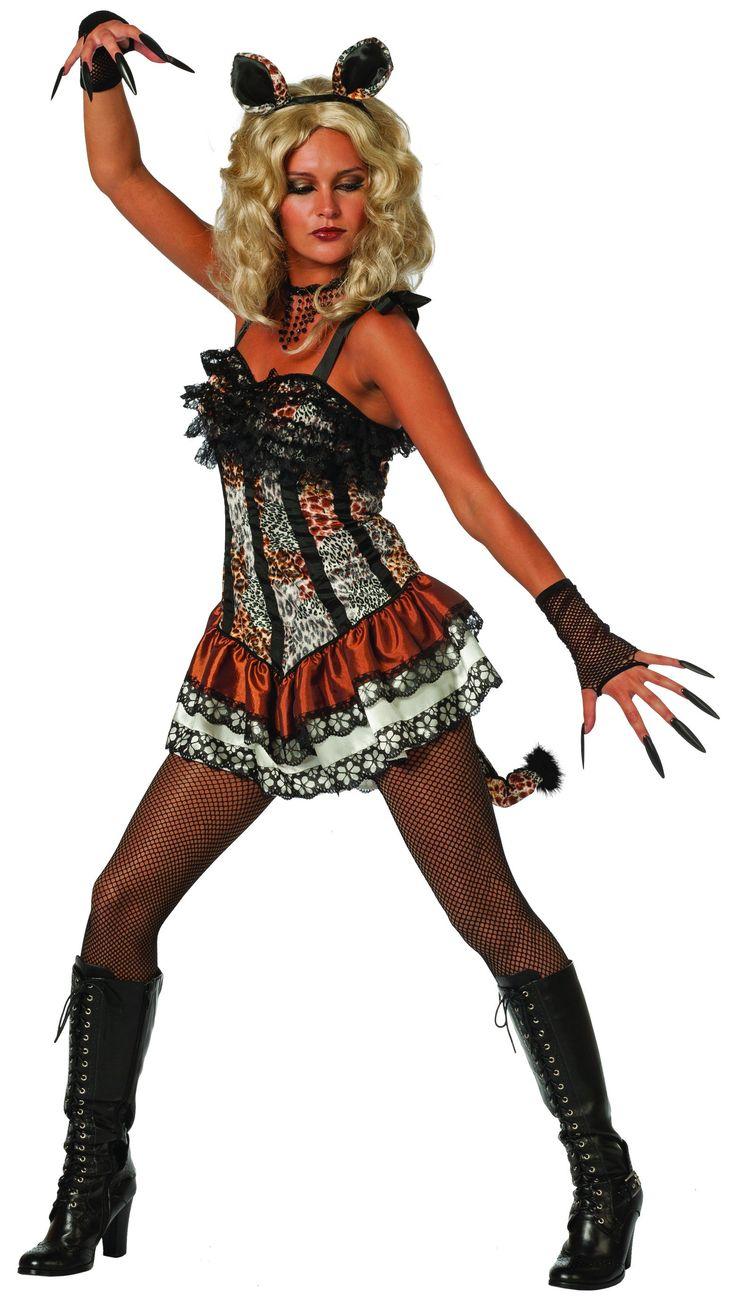 Tiger Babe - Beestenboel - Dames - Hendriks Carnaval