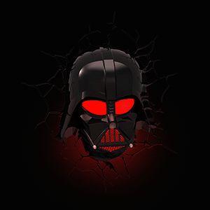 "Star Wars 3D Deco Lights - Yoda is 8.3"" tall; Darth Vader is 12"" tall $39.99"
