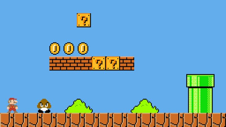 Pixilart - Old Mario Level by JudahGod in 2020 | Color ...