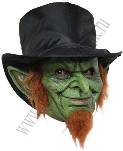 Маска Зеленый гоблин в шляпе купить в интернет магазине