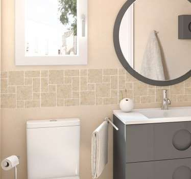 Vinilo para baños azulejos piedra | Baño marmol, Baldosas ...