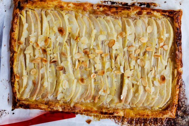 De herfstvakantie is de perfecte gelegenheid voor deze Franse taart met peer, kaneel en lemon curd - Recept - Allerhande
