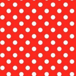 Plakfolie DOTS RED. Verkijgbaar bij Deco Home Bos in Boxmeer. www.decohomebos.nl