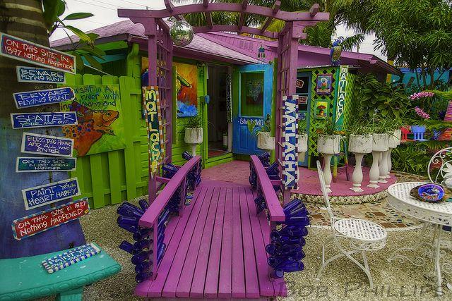 Leoma Lovegrove Gallery & Gardens on Matlacha Island, Florida| Flickr - Photo Sharing!