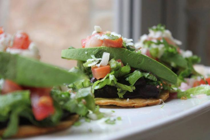 Tacos de fajita from Cantina Laredo in Austin, TX