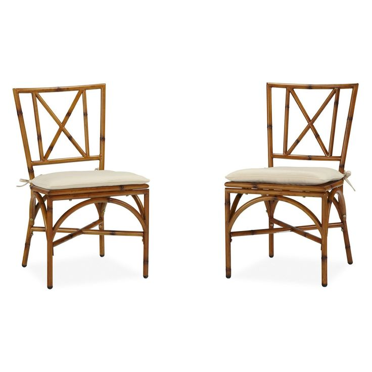 Home Styles Bimini Jim Dining Chair with Cushion - Set of 2