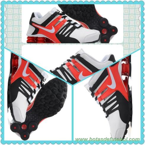 best website 10b6f 46214 ... chuteiras profissionais baratas Masculino Nike Shox Current Branco  Vermelho Preto 6538569-0101  Nike Shox Monster ...
