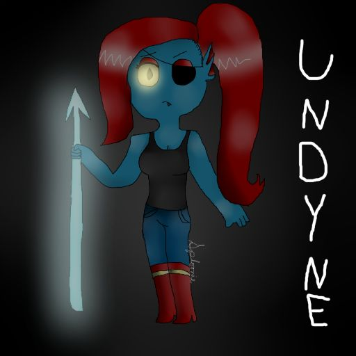 Undyne (undertale) by Sploonieslurpetfm.deviantart.com on @DeviantArt