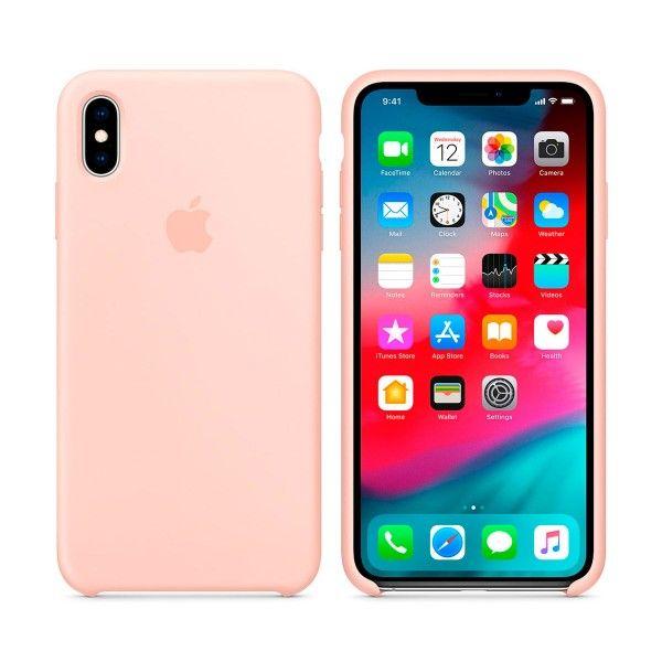 Apple Carcasa De Silicona Rosa Arena Para Iphone Xs Max Fundas Para Iphone Fundas Para Iphone 6 Fundas Para Telefono