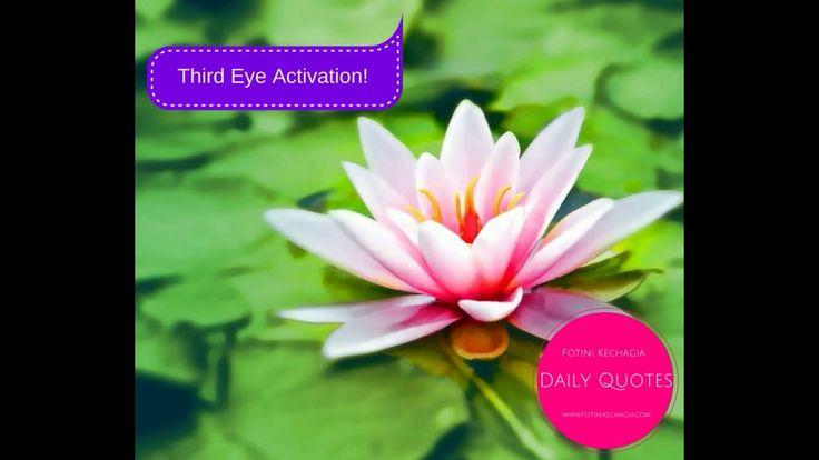 Η Ενεργοποίηση του Τρίτου Ματιού! Third Eye Activation!