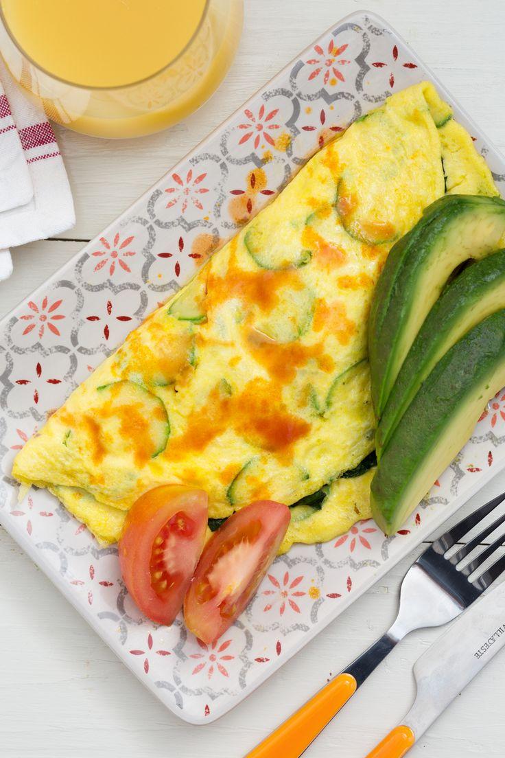 Omelette di verdure: ricca e gustosa. L'ha preparata per noi lo chef Cristina Bowerman!  [Omelette with vegetables]