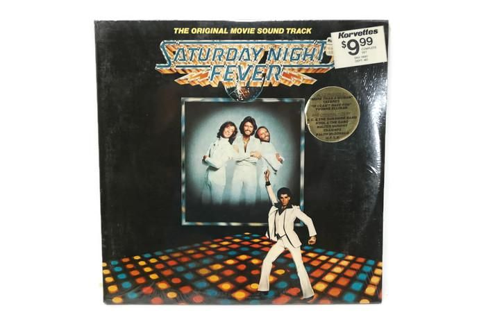SATURDAY NIGHT FEVER - Vintage Record Vinyl Album - ORIGINAL MOTION PICTURE SOUNDTRACK