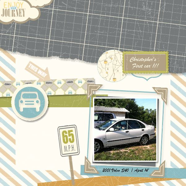 ...the TRAVEL LOG kit from My Digital Studio / Stampin' Up!