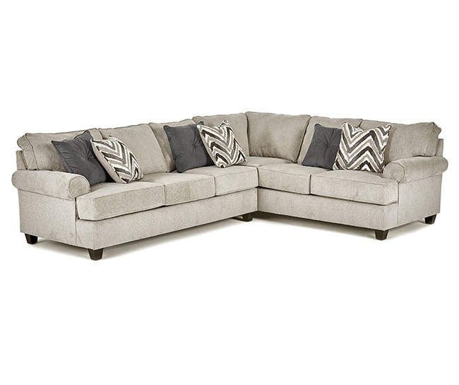 Broyhill Claremont Sectional Big Lots In 2020 Broyhill Sectional Big Lots