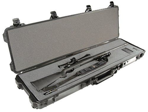 {Quick and Easy Gift Ideas from the USA}  Pelican Products 1750 Gun Case with Foam for Rifle, Black http://welikedthis.com/pelican-products-1750-gun-case-with-foam-for-rifle-black #gifts #giftideas #welikedthisusa