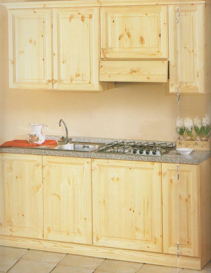 19 fantastiche immagini su cucine rustiche in legno - Cucine in legno ...