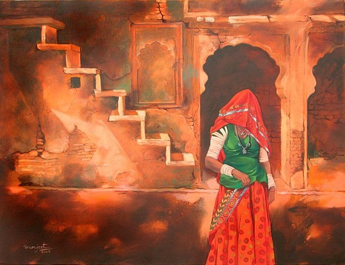 Surjeet Choyal- women of rajasthan series
