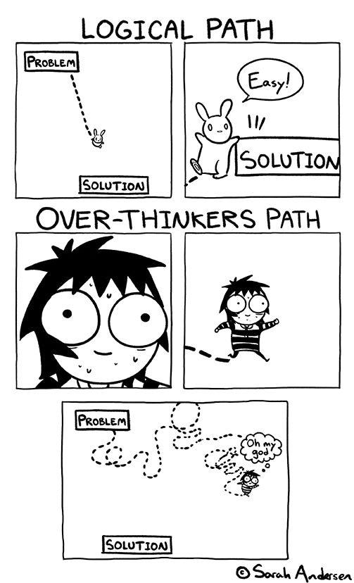 Overthinking - image