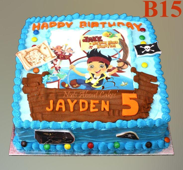 Pirate Cake Ideas