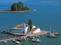 Corfu (Kerkyra) in Ionian sea