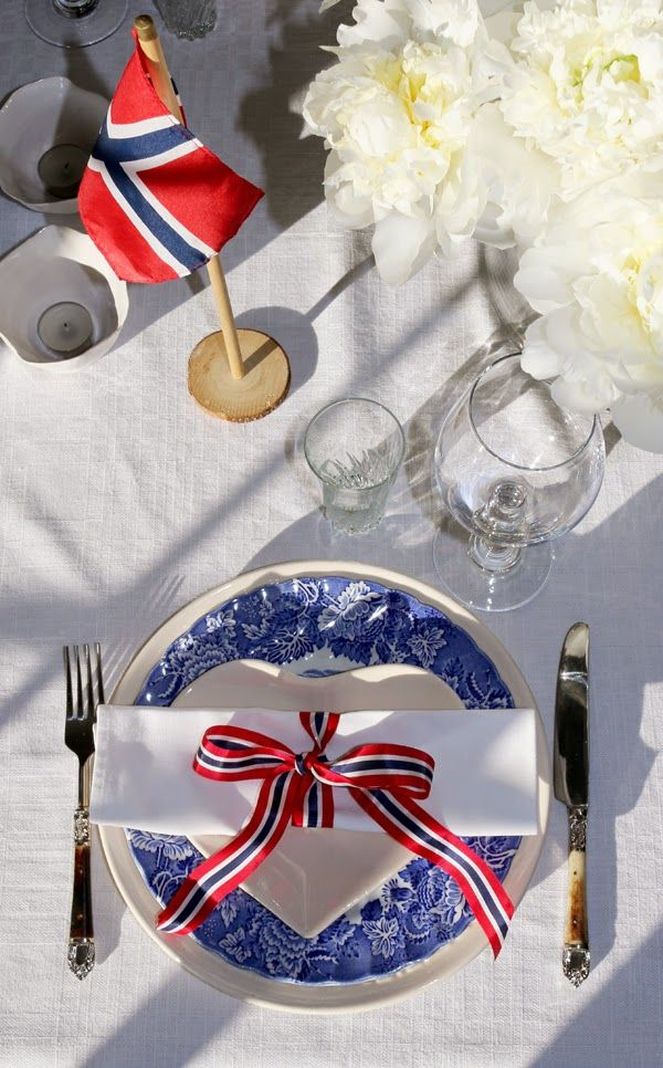 Celebration of Norway's national day on 17 May.