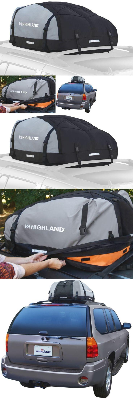 Car racks 114254 roof top cargo rack car van suv waterproof travel bag luggage carrier