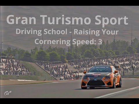New video! #granturismosport #gtsport #gtplanet #sony #ps4 #ps4pro #playstation #simulator #game #games #drivingschool #raising #corneringspeed #corner #speed #lexus #rcf #rcfgr4 #racecar #cars #tracks #online #roadracing #rallyracing #tutorial #gtsportgameplay