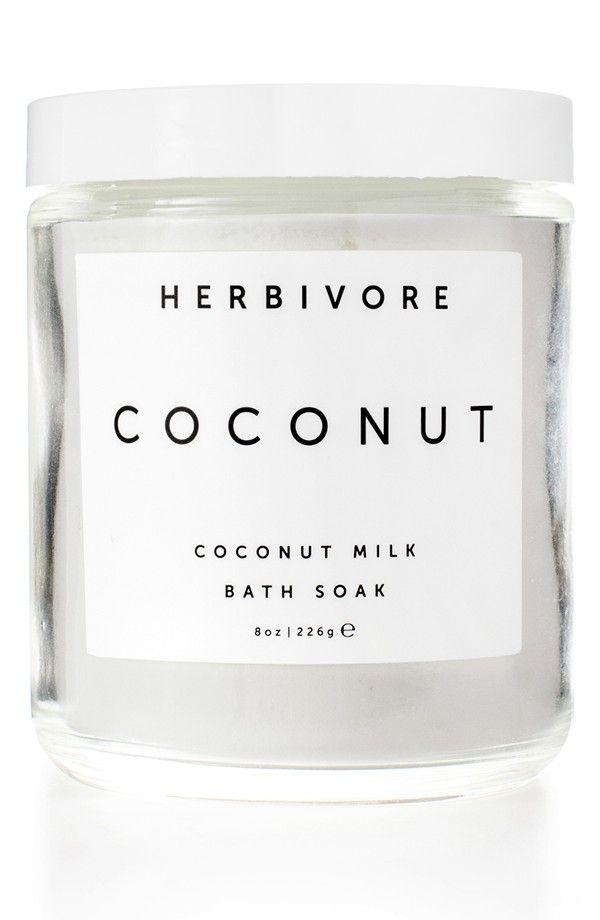 Coconut bath soak.
