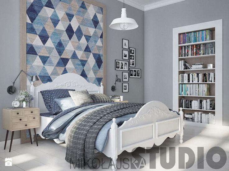 loft bedroom design - zdjęcie od MIKOŁAJSKAstudio