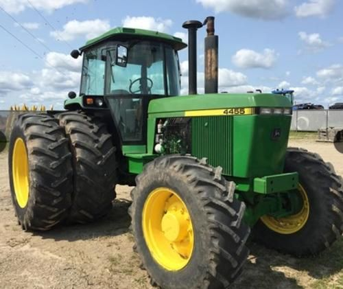 1992 John Deere 4455 Tractor for sale by owner on Heavy Equipment Registry  http://www.heavyequipmentregistry.com/heavy-equipment/15257.htm