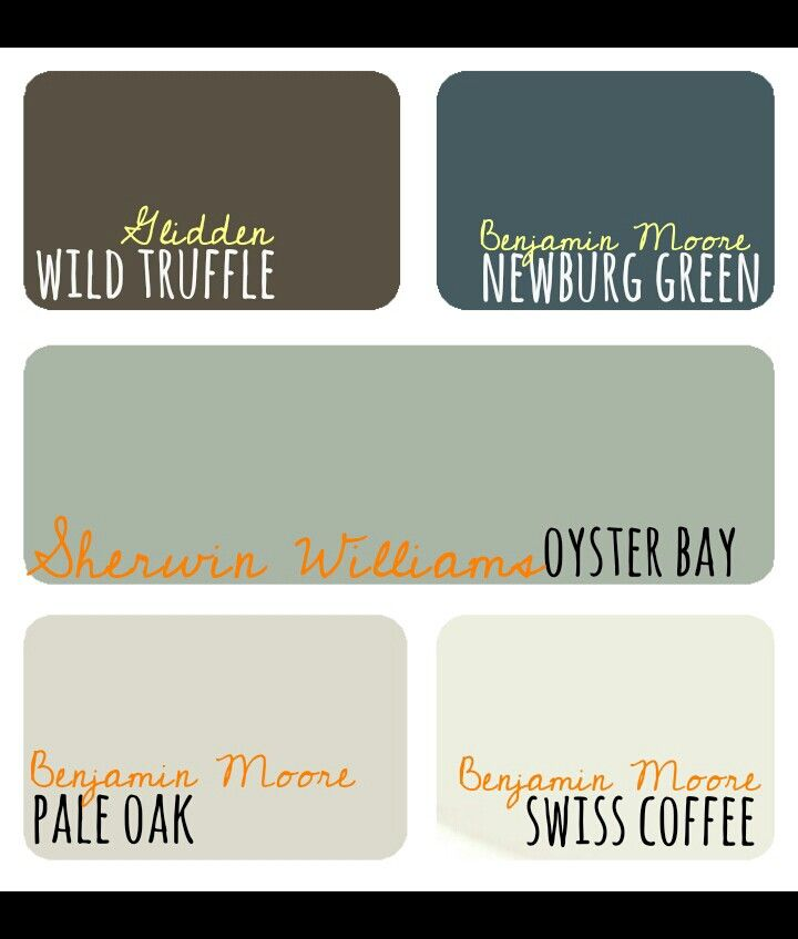 This Is My Kitchen Color Scheme Really Love The Color: 17 Best Ideas About Sherwin Williams Oyster Bay On