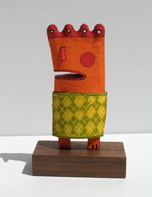 whimsical clay work by paulywally